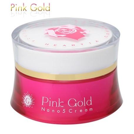 ピンクゴールドナノ5 クリーム 30g - ハーティアコスメティックス
