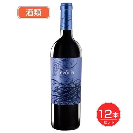 エヴォディア 赤 750ml ×12本セット 酒類 [赤ワイン][スペインワイン]