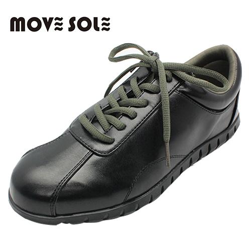 ムーブソール MOVESOLE ウォーキングシューズ MV15 ブラック (22~25.5cm) - シェアフロントプラス