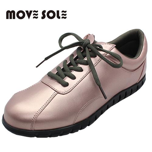 ムーブソール MOVESOLE ウォーキングシューズ MV15 ピンク (22~25.5cm) - シェアフロントプラス