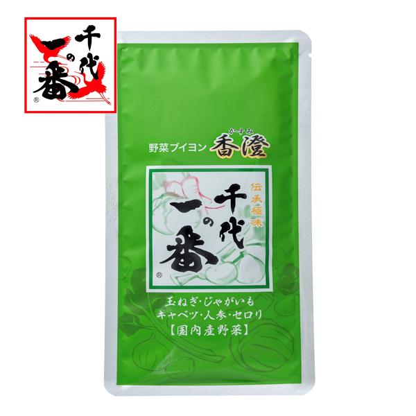 千代の一番 日本産 野菜ブイヨン 香澄 5g×10包がお得 OUTLET SALE ※ネコポス対応商品 5g×10包 -