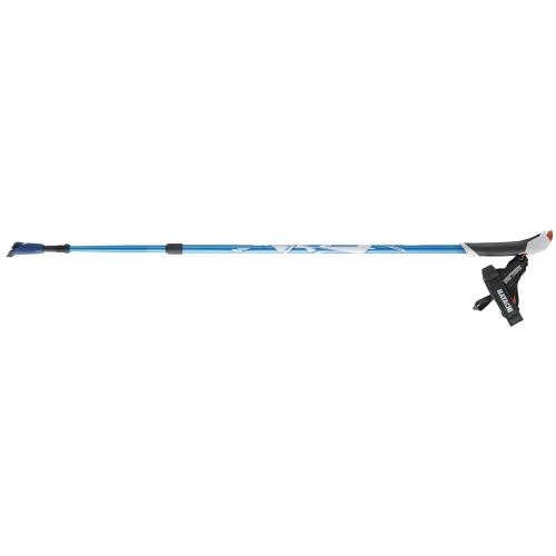 ノルディックウォーク ウォーキングポール AGP アドバンスズーム ブルー - 羽立工業
