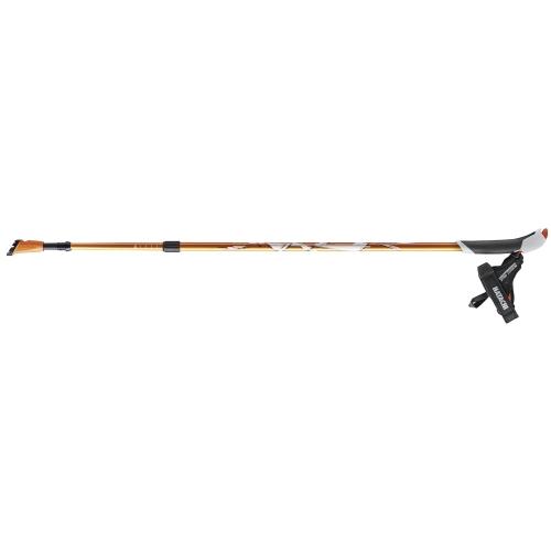 ノルディックウォーク ウォーキングポール AGP アドバンスズーム オレンジ - 羽立工業