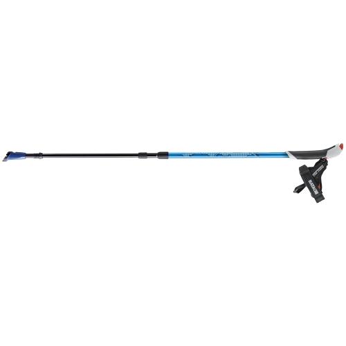 ノルディックウォーク ウォーキングポール AGP コンパクトツアー ブルー - 羽立工業