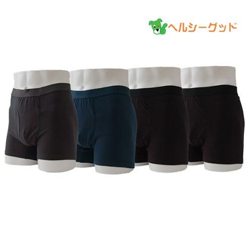 エチケットボクサーパンツ ショート 4枚(3色) M、Lサイズ - 渡嘉毛織