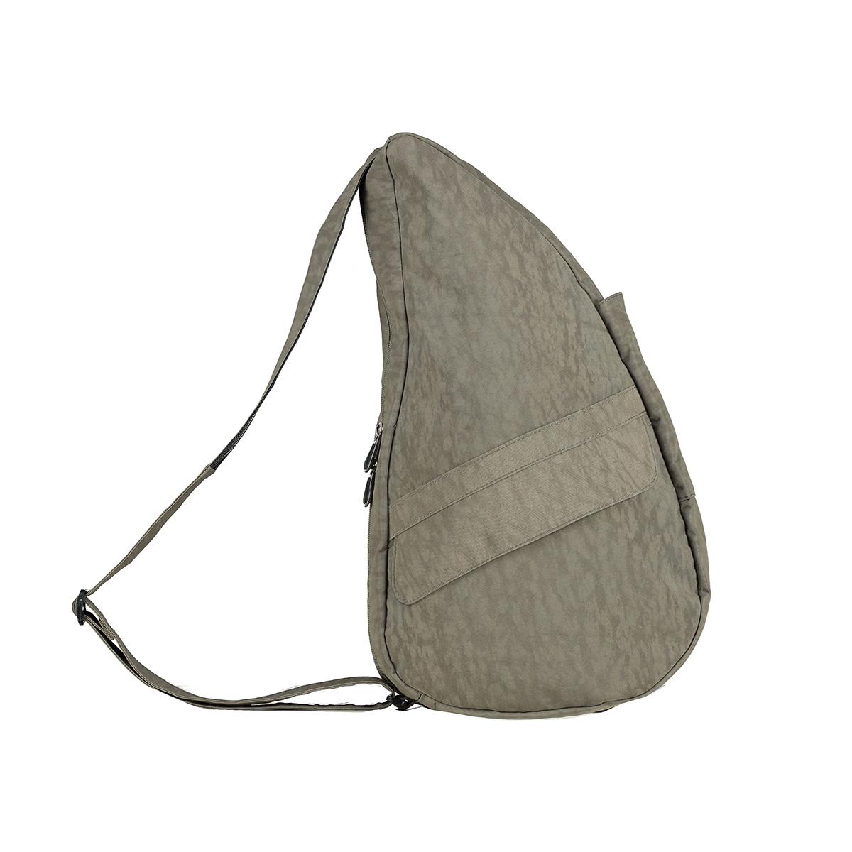 Healthy Back Bag/ヘルシーバックバッグ/ショルダーバッグ/ボディバッグ/旅行バッグ/軽量/レディース/メンズ 《限定ポーチ付》 公式ストア ヘルシーバックバッグ テクスチャードナイロン Mサイズ トリュフ