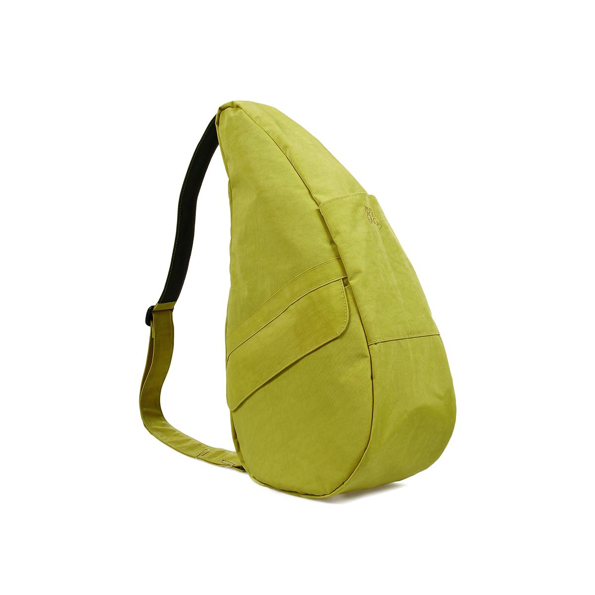 Healthy Back Bag/ヘルシーバックバッグ/ショルダーバッグ/ボディバッグ/旅行バッグ/軽量/レディース/メンズ 《限定ポーチ付》 公式ストア ヘルシーバックバッグ テクスチャードナイロン Mサイズ ピスタチオ
