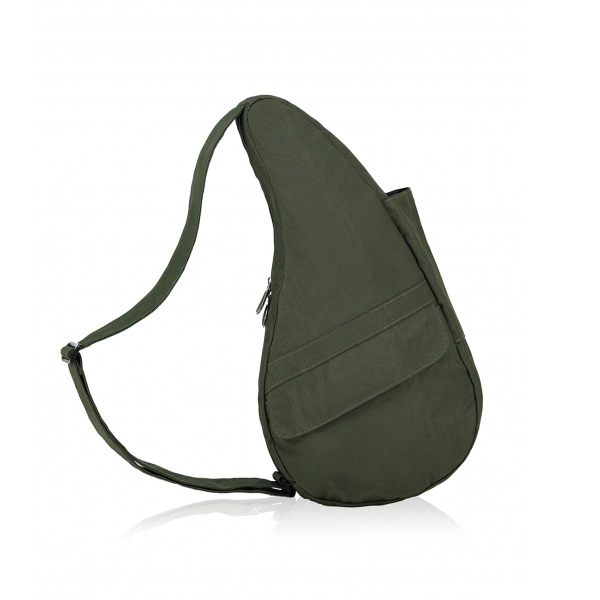 Healthy Back Bag/ヘルシーバックバッグ/ショルダーバッグ/ボディバッグ/旅行バッグ/軽量/レディース/メンズ 《限定ポーチ付》 公式ストア ヘルシーバックバッグ テクスチャードナイロン Mサイズ ディープフォレスト