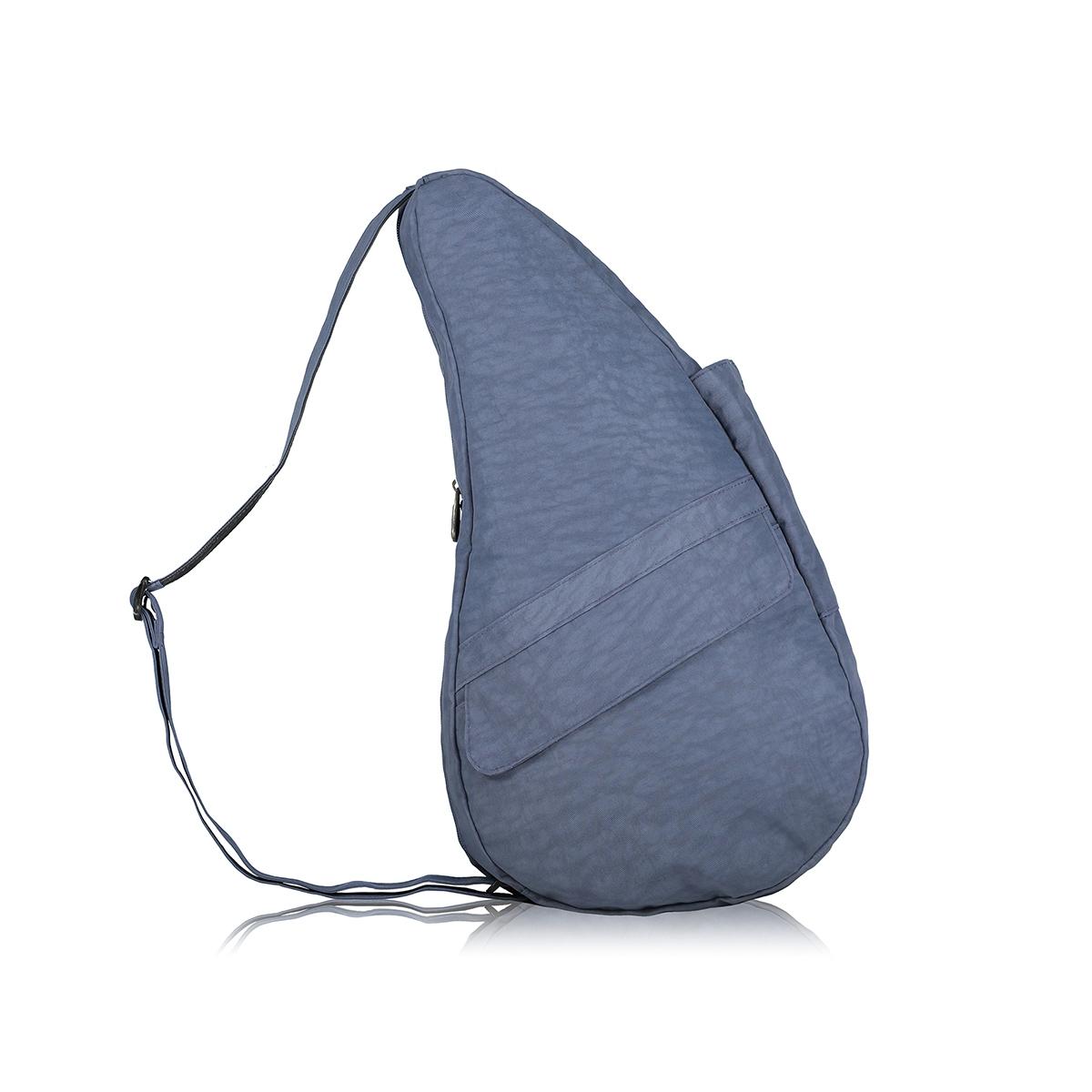 Healthy Back Bag/ヘルシーバックバッグ/ショルダーバッグ/ボディバッグ/旅行バッグ/軽量/レディース/メンズ 《限定ポーチ付》 公式ストア ヘルシーバックバッグ テクスチャードナイロン Mサイズ ヴィンテージインディゴ