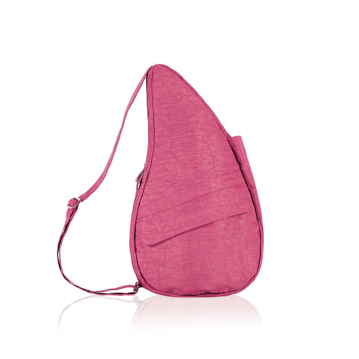 Healthy Back Bag/ヘルシーバックバッグ/ショルダーバッグ/ボディバッグ/旅行バッグ/軽量/レディース/メンズ 《限定ポーチ付》 公式ストア ヘルシーバックバッグ テクスチャードナイロン Mサイズ クランベリー