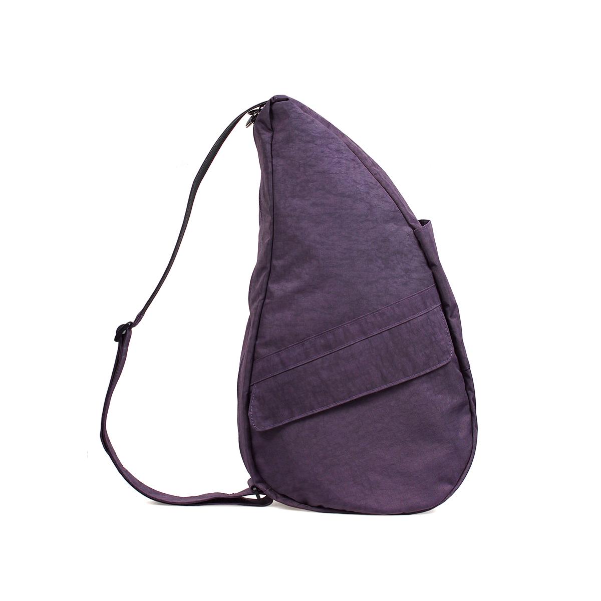 Healthy Back Bag/ヘルシーバックバッグ/ショルダーバッグ/ボディバッグ/旅行バッグ/軽量/レディース/メンズ 《限定ポーチ付》 公式ストア ヘルシーバックバッグ テクスチャードナイロン Mサイズ プラム