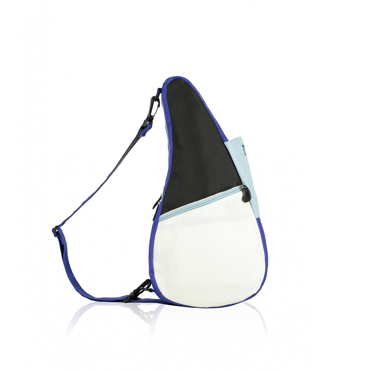 Healthy Back Bag/ヘルシーバックバッグ/ショルダーバッグ/ボディバッグ/旅行バッグ/軽量/レディース/メンズ 《限定ポーチ付》 ヘルシーバックバッグ リバーシブル Sサイズ モザイクブルー
