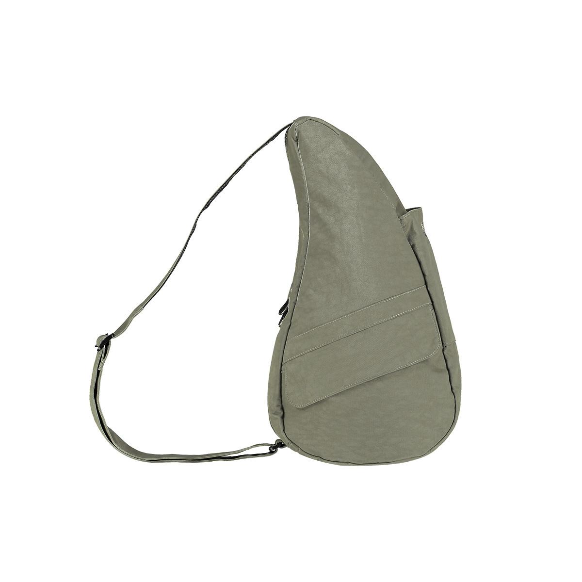 Healthy Back Bag/ヘルシーバックバッグ/ショルダーバッグ/ボディバッグ/旅行バッグ/軽量/レディース/メンズ 《限定ポーチ付》 公式ストア ヘルシーバックバッグ テクスチャードナイロン Sサイズ6303 セージ