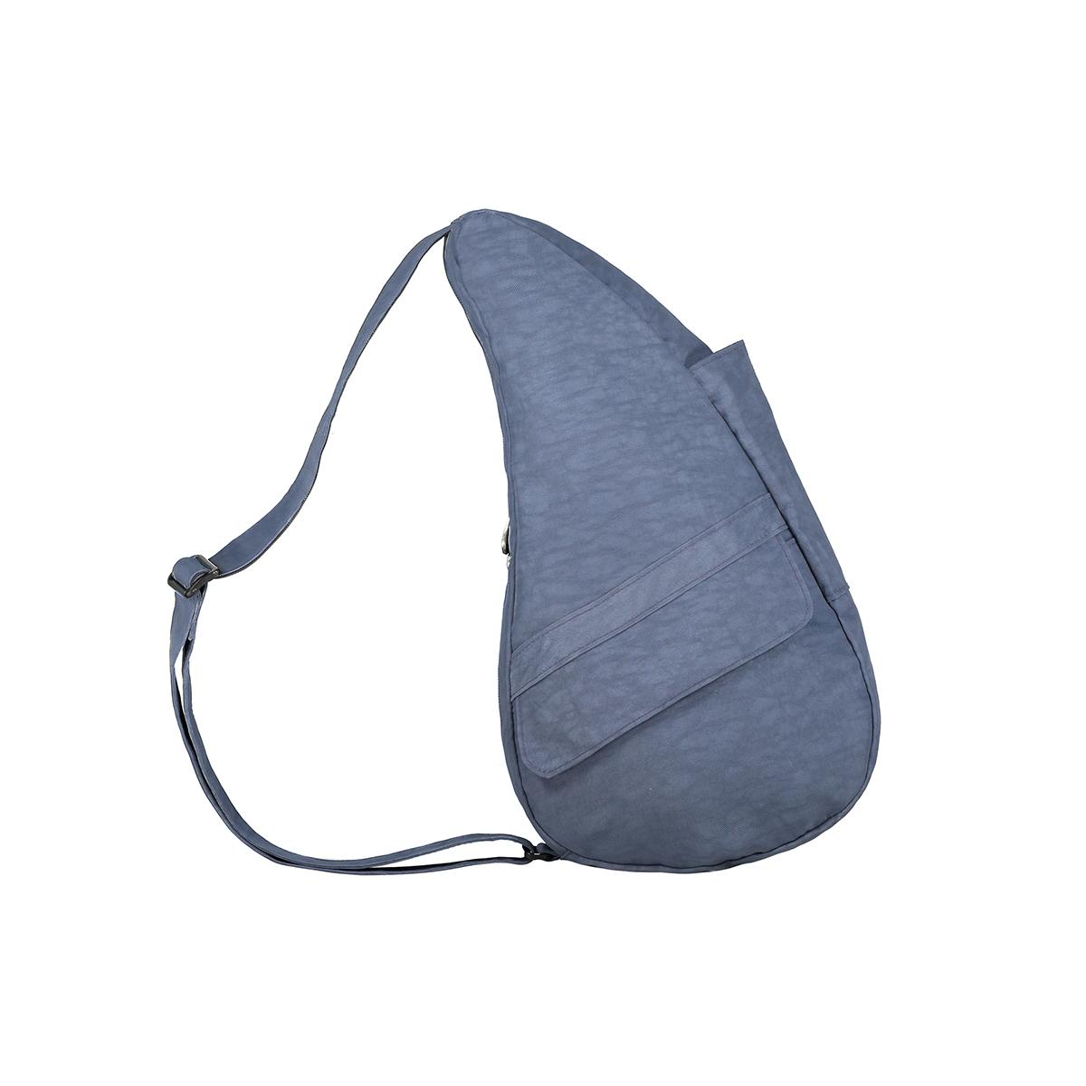 Healthy Back Bag/ヘルシーバックバッグ/ショルダーバッグ/ボディバッグ/旅行バッグ/軽量/レディース/メンズ 《限定ポーチ付》 公式ストア ヘルシーバックバッグ テクスチャードナイロン Sサイズ ヴィンテージインディゴ