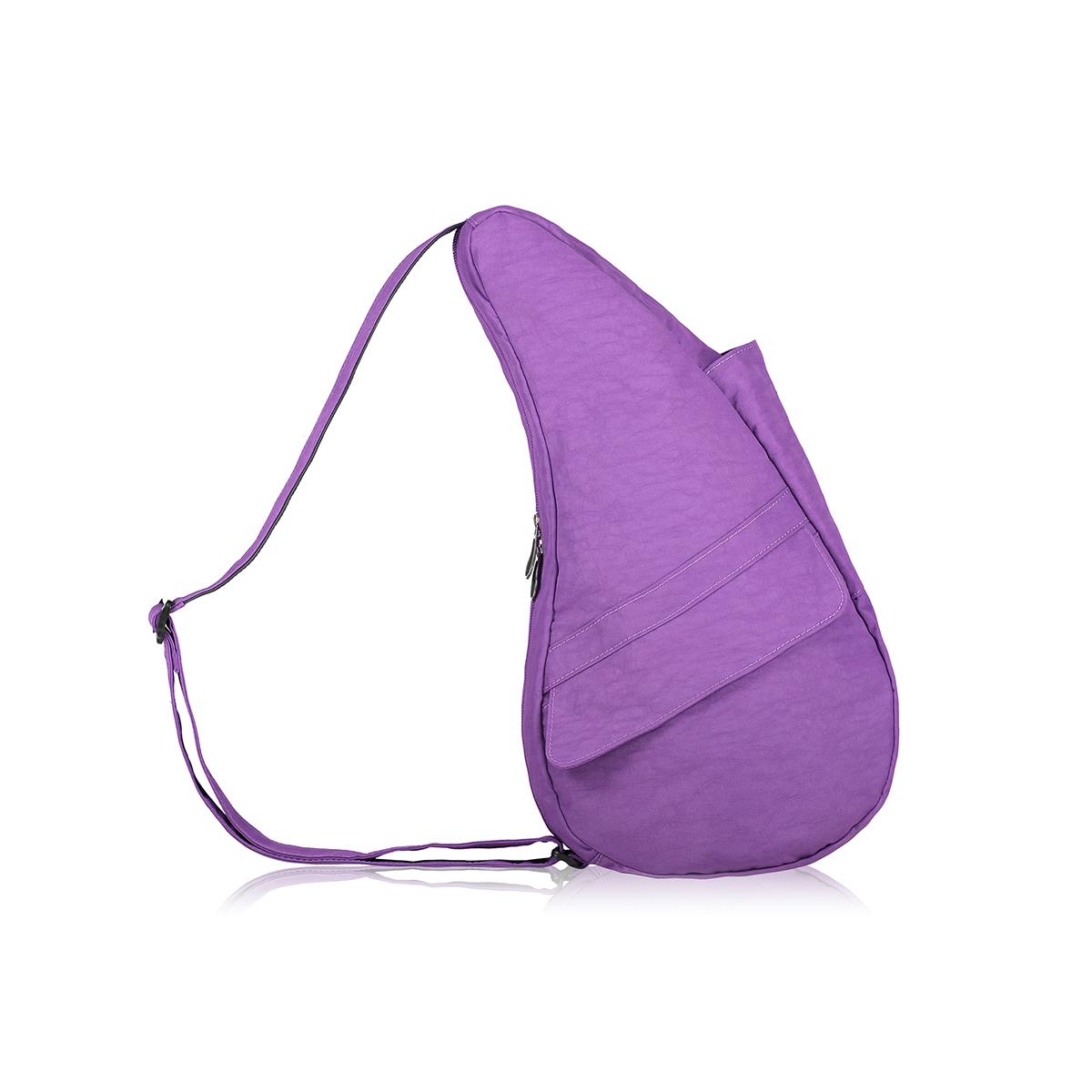 Healthy Back Bag/ヘルシーバックバッグ/ショルダーバッグ/ボディバッグ/旅行バッグ/軽量/レディース/メンズ 《限定ポーチ付》 公式ストア ヘルシーバックバッグ テクスチャードナイロン Sサイズ ウルトラパープル