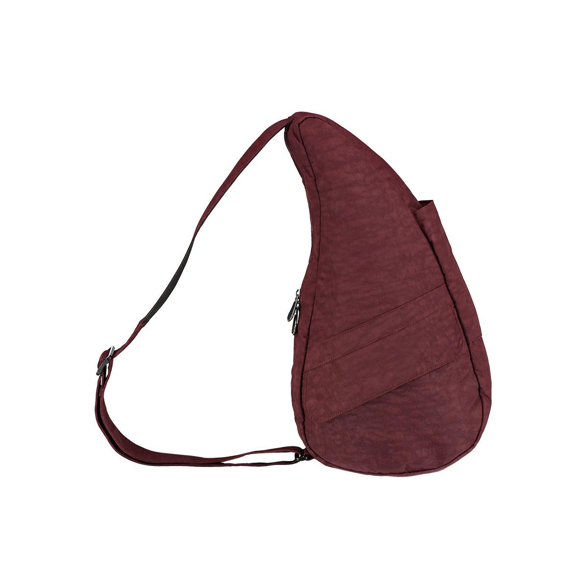 Healthy Back Bag/ヘルシーバックバッグ/ショルダーバッグ/ボディバッグ/旅行バッグ/軽量/レディース/メンズ 《限定ポーチ付》 公式ストア ヘルシーバックバッグ テクスチャードナイロン Sサイズ6303 フィグ