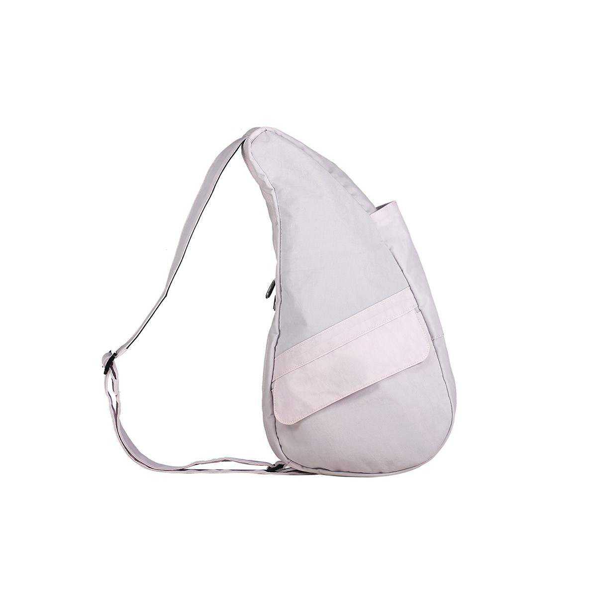 Healthy Back Bag/ヘルシーバックバッグ/ショルダーバッグ/ボディバッグ/旅行バッグ/軽量/レディース/メンズ 《限定ポーチ付》 公式ストア ヘルシーバックバッグ テクスチャードナイロン Sサイズ オパールホワイト