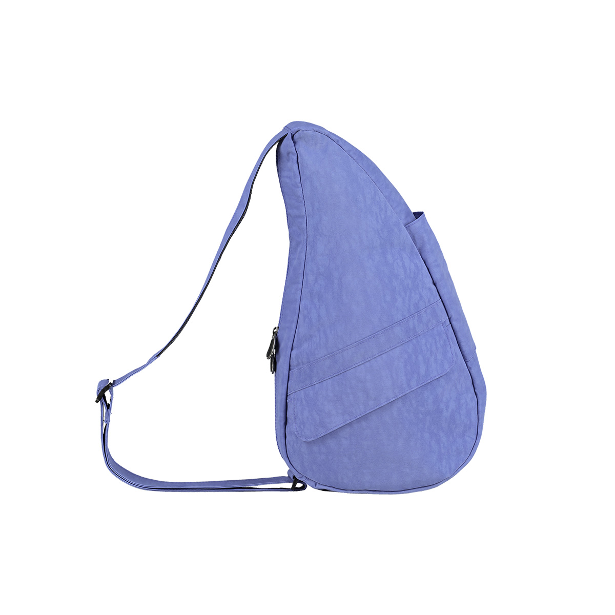 Healthy Back Bag/ヘルシーバックバッグ/ショルダーバッグ/ボディバッグ/旅行バッグ/軽量/レディース/メンズ 《限定ポーチ付》 公式ストア ヘルシーバックバッグ テクスチャードナイロン Sサイズ アイリス