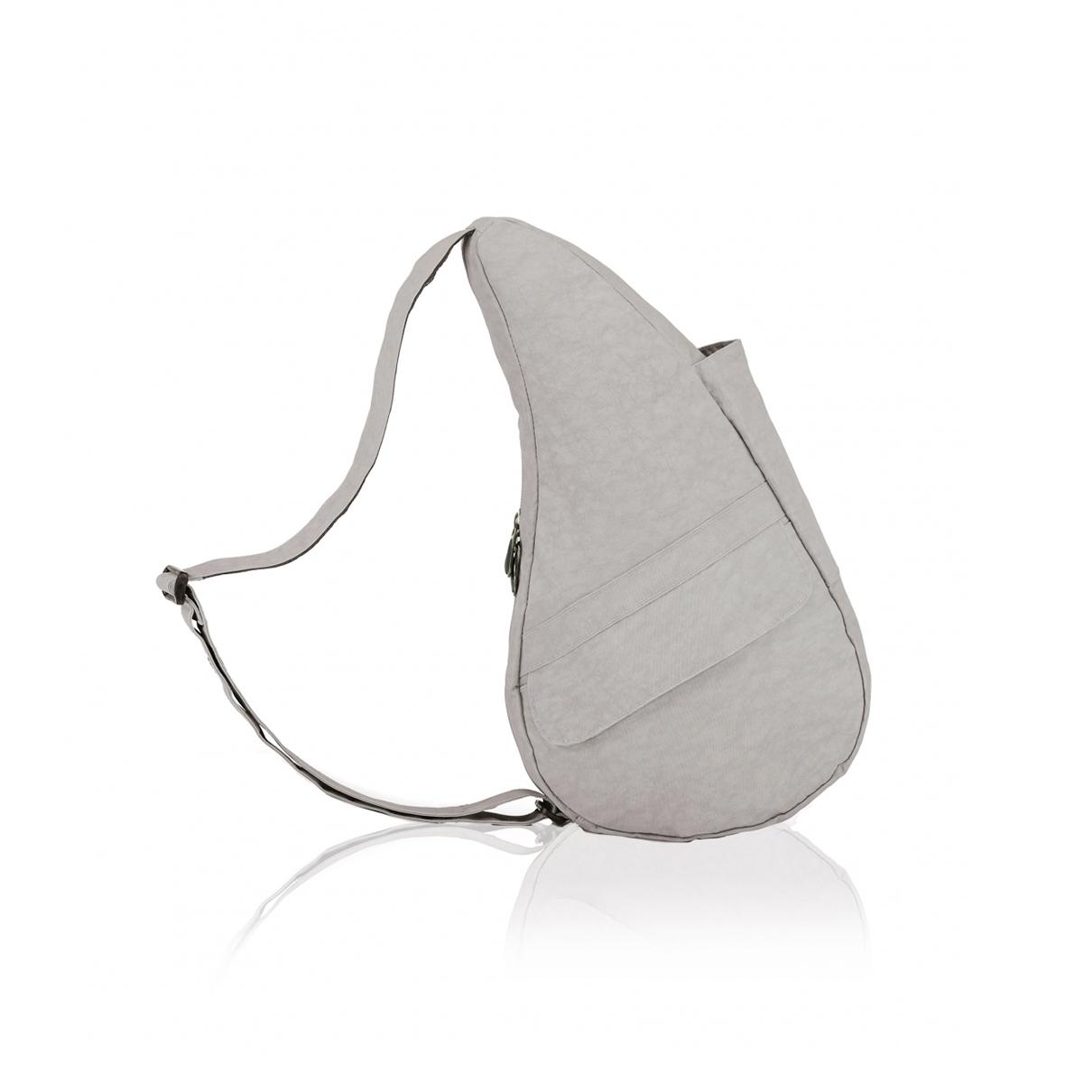 Healthy Back Bag/ヘルシーバックバッグ/ショルダーバッグ/ボディバッグ/旅行バッグ/軽量/レディース/メンズ 《限定ポーチ付》 公式ストア ヘルシーバックバッグ テクスチャードナイロン Sサイズ グレーフォックス