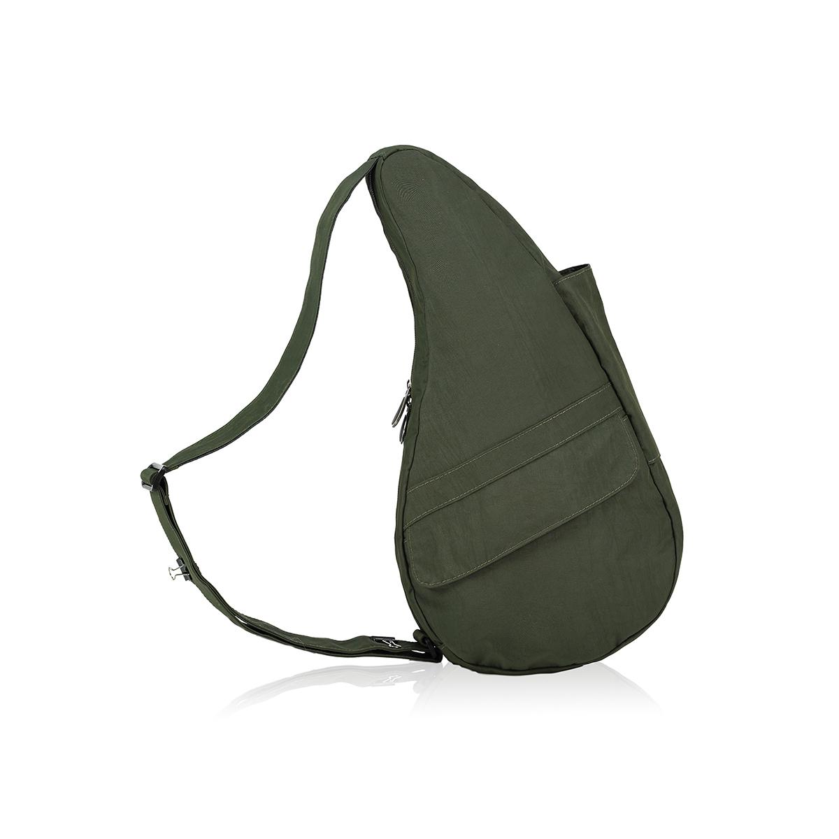 Healthy Back Bag/ヘルシーバックバッグ/ショルダーバッグ/ボディバッグ/旅行バッグ/軽量/レディース/メンズ 《限定ポーチ付》 公式ストア ヘルシーバックバッグ テクスチャードナイロン Sサイズ ディープフォレスト