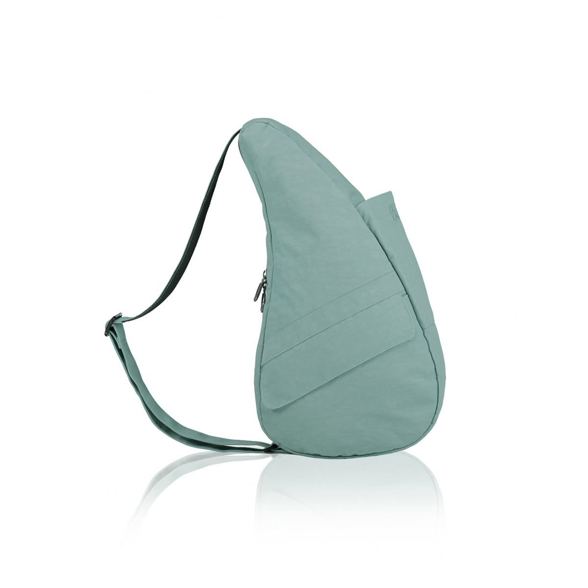 Healthy Back Bag/ヘルシーバックバッグ/ショルダーバッグ/ボディバッグ/旅行バッグ/軽量/レディース/メンズ 《限定ポーチ付》 公式ストア ヘルシーバックバッグ テクスチャードナイロン Sサイズ アクア