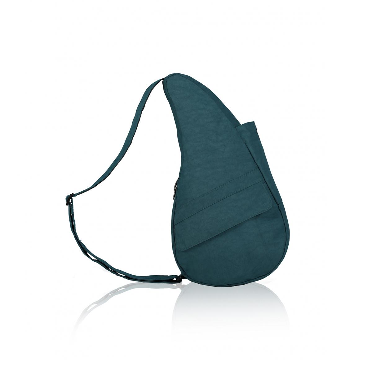 Healthy Back Bag/ヘルシーバックバッグ/ショルダーバッグ/ボディバッグ/旅行バッグ/軽量/レディース/メンズ 《限定ポーチ付》 公式ストア ヘルシーバックバッグ テクスチャードナイロン Sサイズ ラグーン