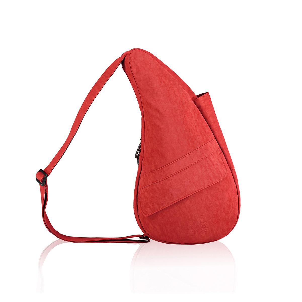 Healthy Back Bag/ヘルシーバックバッグ/ショルダーバッグ/ボディバッグ/旅行バッグ/軽量/レディース/メンズ 《限定ポーチ付》 公式ストア ヘルシーバックバッグ テクスチャードナイロン Sサイズ トスカンレッド