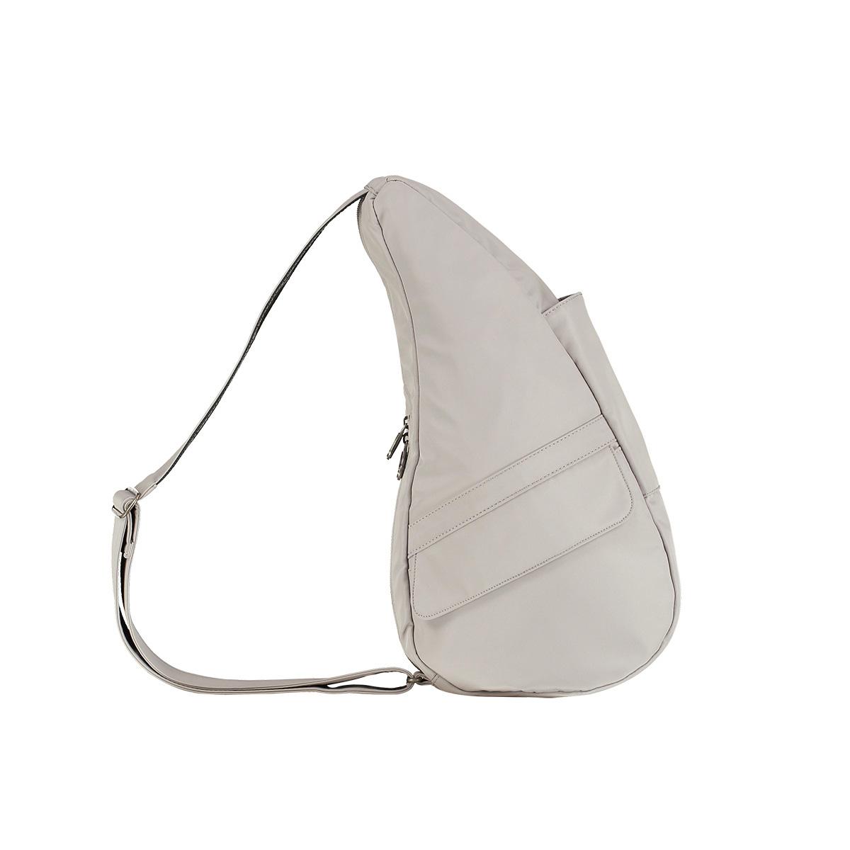 Healthy Back Bag/ヘルシーバックバッグ/ショルダーバッグ/ボディバッグ/旅行バッグ/軽量/レディース/メンズ 《限定ポーチ付》 公式ストア ヘルシーバックバッグ マイクロファイバー Sサイズ7303 ドーブグレー