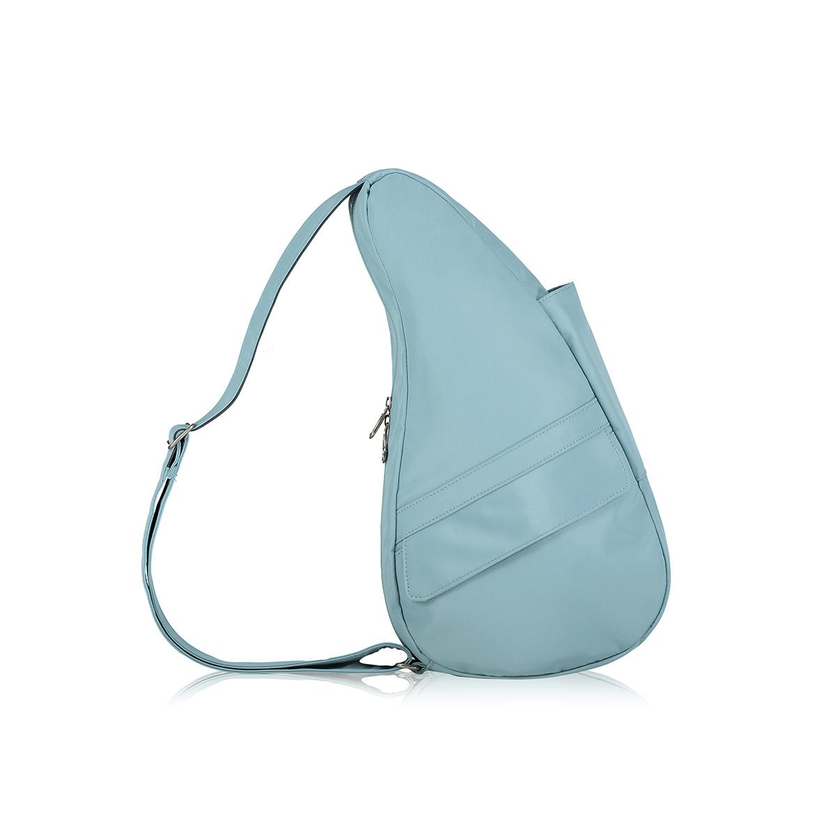 Healthy Back Bag/ヘルシーバックバッグ/ショルダーバッグ/ボディバッグ/旅行バッグ/軽量/レディース/メンズ 《限定ポーチ付》 公式ストア ヘルシーバックバッグ マイクロファイバー Sサイズ ブルーセージ