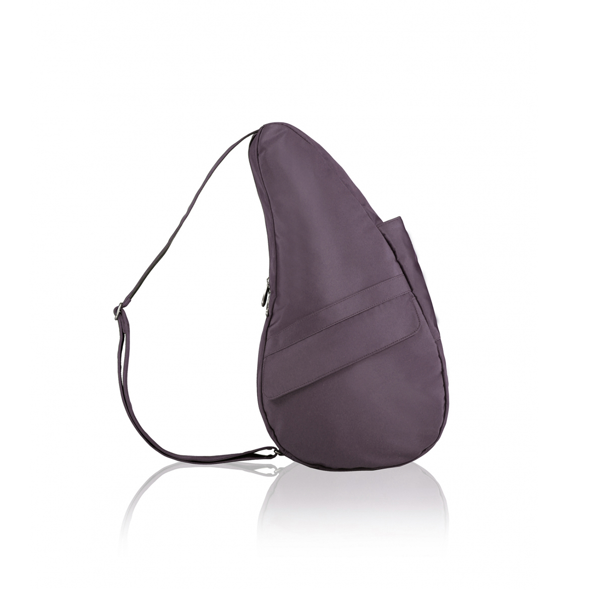 Healthy Back Bag/ヘルシーバックバッグ/ショルダーバッグ/ボディバッグ/旅行バッグ/軽量/レディース/メンズ 《限定ポーチ付》 公式ストア ヘルシーバックバッグ マイクロファイバー Sサイズ ブラックプラム