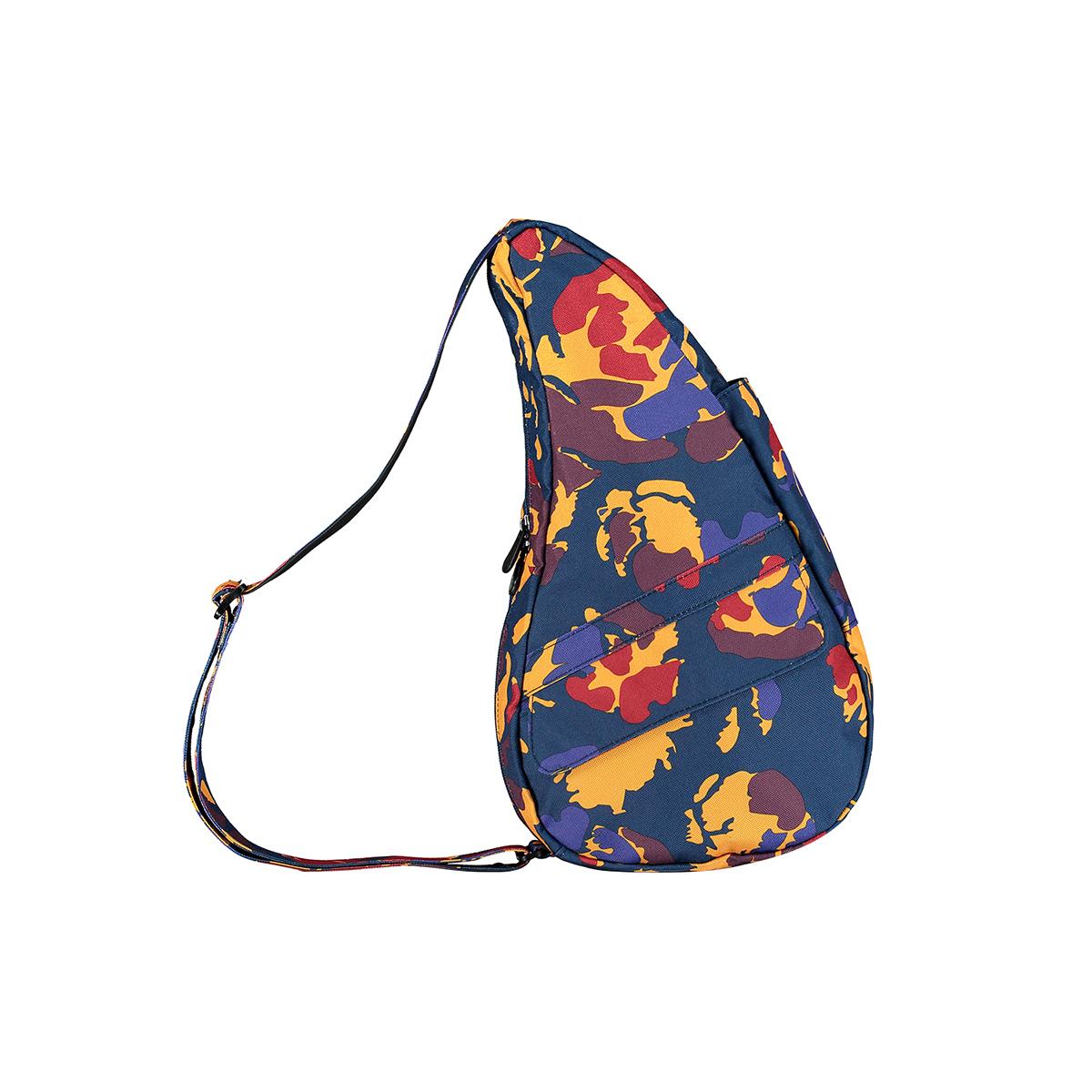 Healthy Back Bag/ヘルシーバックバッグ/ショルダーバッグ/ボディバッグ/旅行バッグ/軽量/レディース/メンズ 公式ストア ヘルシーバックバッグ プリント Sサイズ ミスティックフローラル ネイビー