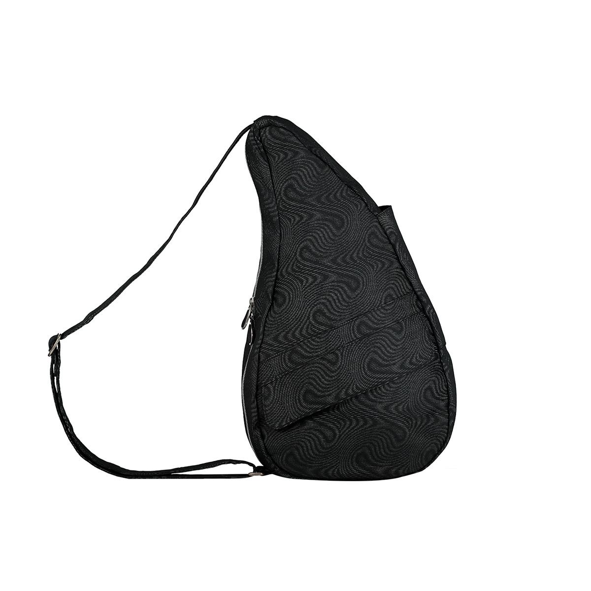 Healthy Back Bag/ヘルシーバックバッグ/ショルダーバッグ/ボディバッグ/旅行バッグ/軽量/レディース/メンズ 《限定ポーチ付》 公式ストア ヘルシーバックバッグ モアレ Sサイズ ブラック