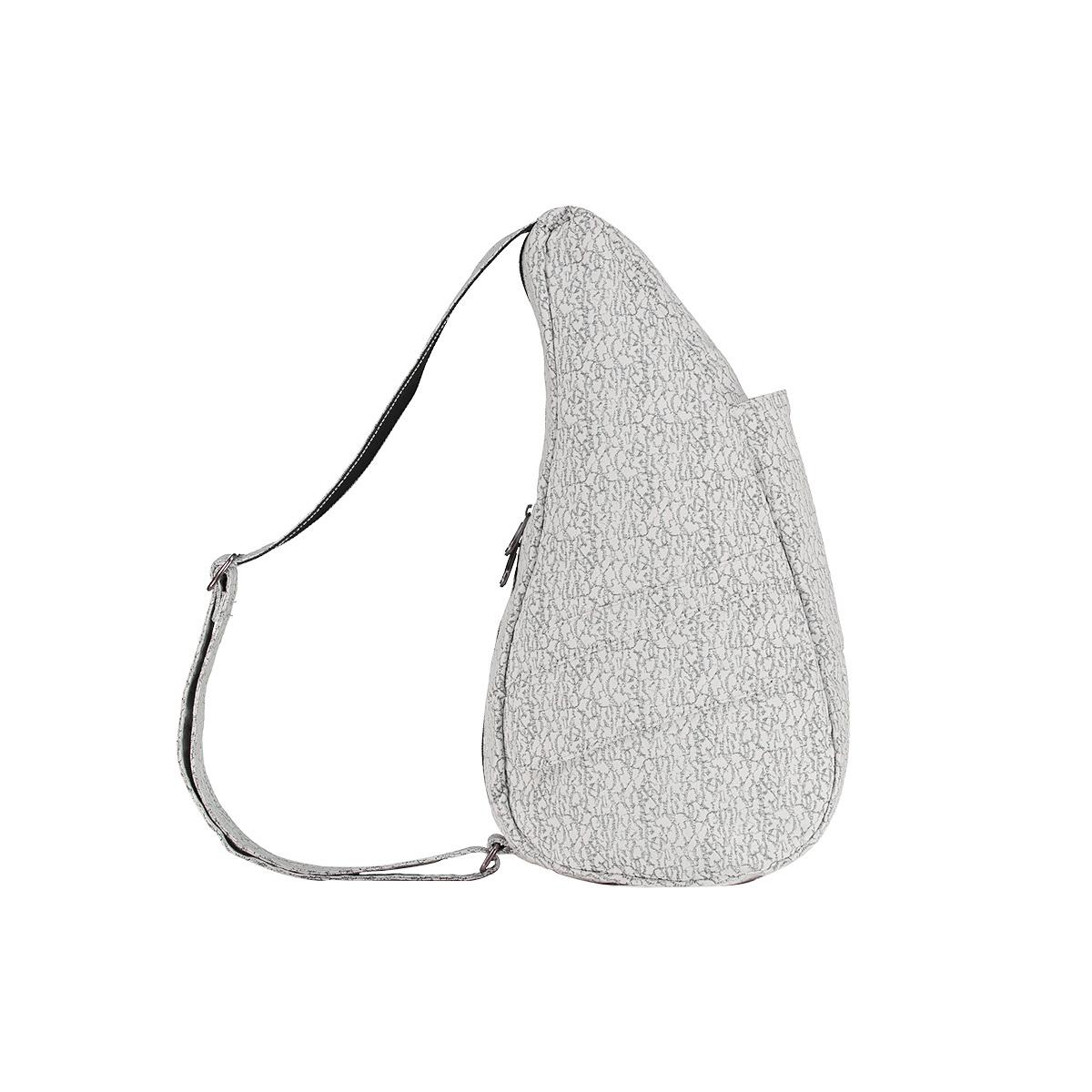 Healthy Back Bag/ヘルシーバックバッグ/ショルダーバッグ/ボディバッグ/旅行バッグ/軽量/レディース/メンズ 《限定ポーチ付》 公式ストア ヘルシーバックバッグ クラックル Sサイズ ブラック/ホワイト