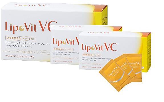 リポビットVC 30包 3箱セット【国産高品質リポソームパウダータイプ】