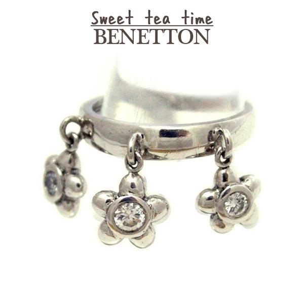 ベネトン BENETTON 指輪 レディース ブランド キュービック シルバー ジュエリー アクセサリー リング #8 【送料無料】【o】【P02】【SS5C5】【あす楽対応】【ギフト】