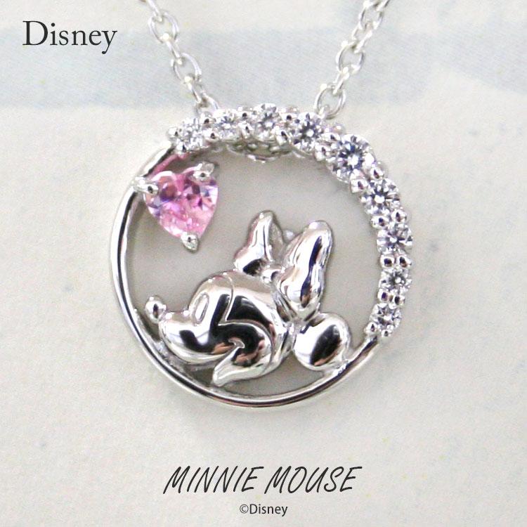 ディズニー ネックレス Disney ミニーマウス シルバー ジュエリー アクセサリー レディース ペンダント ネックレス VPCDS20125 ミニー 正規品【送料無料】【NH】【Disneyzone】【P10】【ギフト】