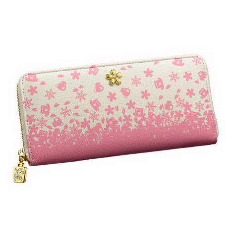 Leather wallet (ロゼオ wallet) iei-9120 of the ONE PIECE one piece premium collection Tony Tony chopper storm of falling cherry blossoms