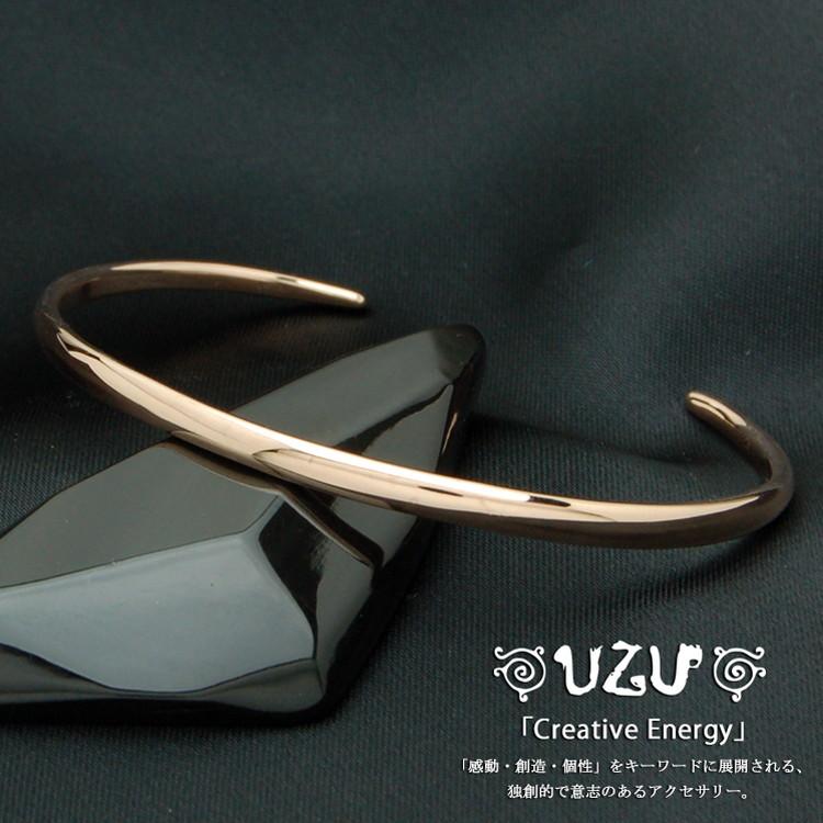 ウズ UZU ブレスレット レディース ブレス K10PG ピンクゴールド 鏡面仕上げ BU-2-G【ni】【送料無料】【ギフト】