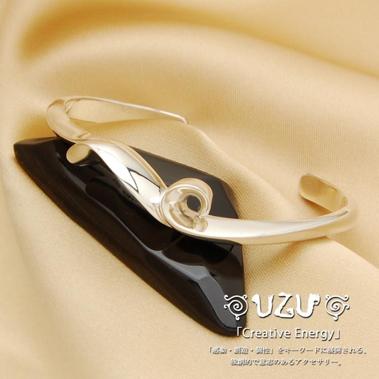 ウズ UZU ブレスレット レディース ジュエリー アクセサリー シルバー ブレス 鏡面仕上げ BU-36【ni】【ギフト】