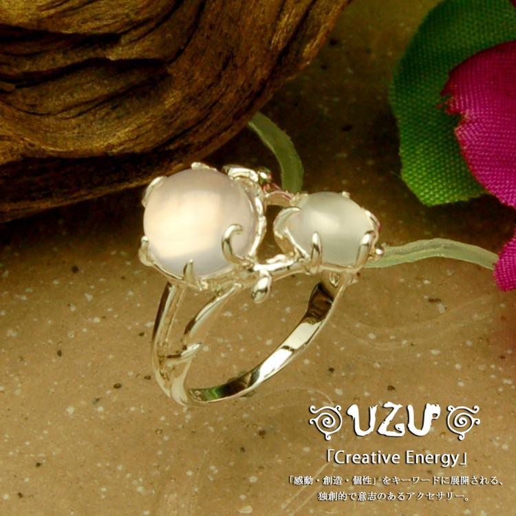 ウズ UZU 指輪 レディース RI-1043-RQ MS ジュエリー アクセサリー シルバーリング RQ MS【P02】【ni】【ギフト】