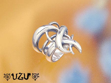 ウズ UZU 指輪 レディース RI-3038 イブシ ジュエリー アクセサリー シルバーリング 12/23【ni】【ギフト】