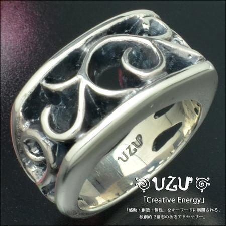 ウズ UZU 指輪 レディース RI-364 ジュエリー アクセサリー シルバー リング イブシ仕上げ【UcateK】【ni】【ギフト】