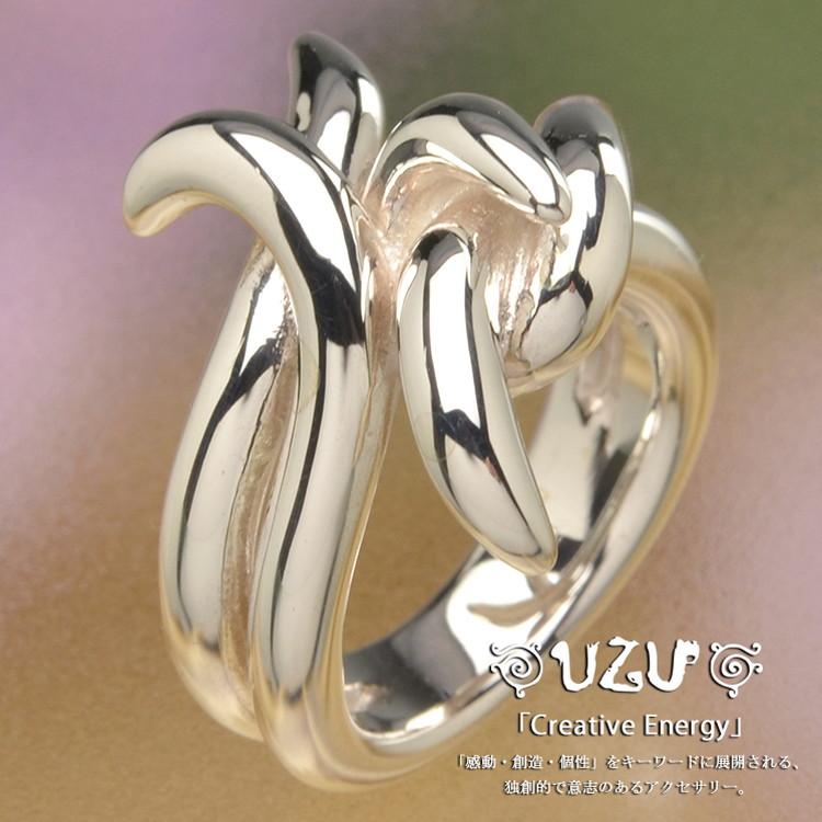 ウズ UZU 指輪 レディース RI-0444 ジュエリー アクセサリー シルバーリング 鏡面仕上げ【ni】【ギフト】