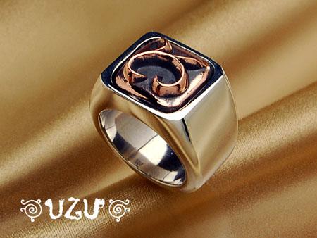 ウズ UZU 指輪 レディース RI-533 ジュエリー アクセサリー シルバーリング コパー【ni】【ギフト】