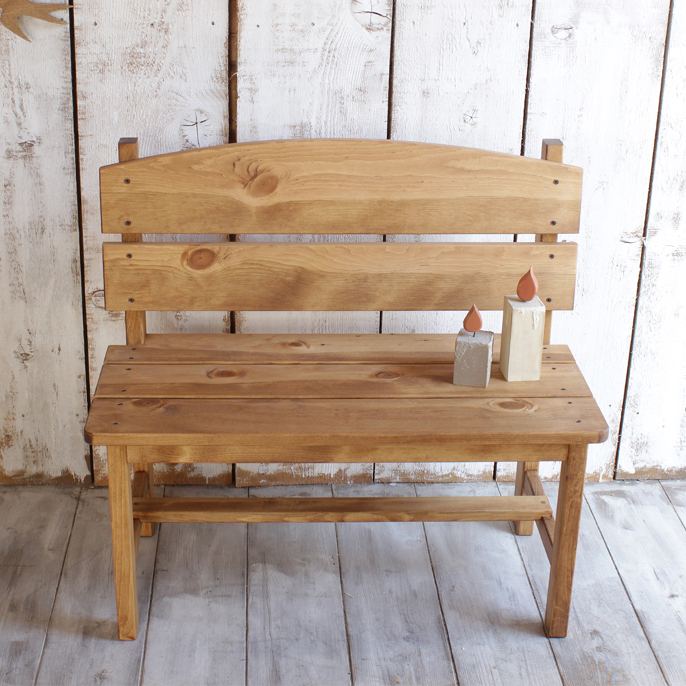 Super Wooden Garden Bench Pine The Bench North Europe Furniture Natural Gardening Outdoors Gmtry Best Dining Table And Chair Ideas Images Gmtryco
