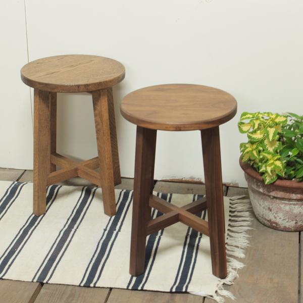 スツール 無垢 スツール 北欧 椅子 丸椅子 ナチュラル