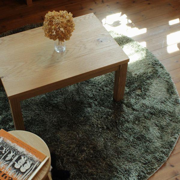 シンプルローテーブル/オーク材 テーブル 無垢 北欧 家具 リビングテーブル 木製 オーク オーダー ナチュラル
