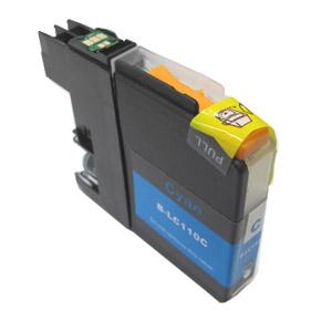 LC110 C 青色兼容 (单个) 哥哥弟弟兼容墨水 lc110c DCP J152N DCP J132N 通用墨水