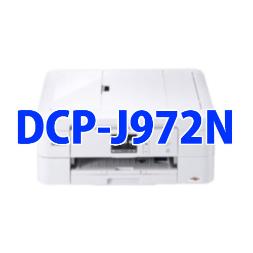 DRIVERS UPDATE: BROTHER DCP-J972N