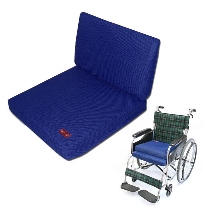 介護用品 福祉用具 車いす 店舗 車椅子 クッション 背中 日本産 ラクラ RK-CS-2W 2ウェイシート シート
